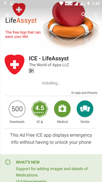 LifeAssyst Install APK Download